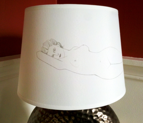 Lampshade illustration